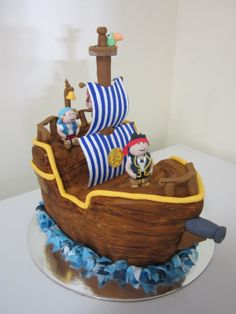 Cakes Cake Baker And Decorator Jake The Neverland Pirates more at Recipins.com
