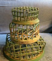 Metal Cage Flower Frog, so many uses gotta love them