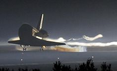 On July 8, 2011 Atlantis launched for the last of its 135 missions, marking the end of the shuttle program. https://www.inside.com/space/u6fa4/On-July-8-2011-Atlantis-launched-for-the