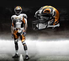 Cincinnati Bengals football uniforms