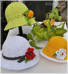 Ravelry: Garden Party Hat pattern by Alla Koval