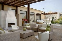 Outdoor living. Interior design, Egypt