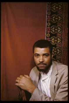 James Earl Jones in 1961. Photo by the great Carl Van Vechten.