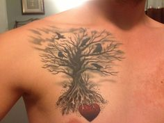 50 Tree Tattoo designs for Men and Women | http://art.ekstrax.com/2013/02/50-tree-tattoo-designs-for-men-and-women.html