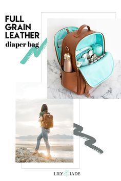 how to buy backpack diaper bags Diaper Bag Backpack, Backpack Straps, Lily Jade Diaper Bag, Leather Diaper Bags, Leather Bags, Diaper Captions, Convertible Diaper Bag, Best Diaper Bag, Backpacks