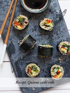 Recept: Quinoa Sushi Rolls | TGH Magazine