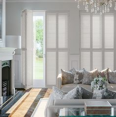New Forest Snow Timber Plantation Shutter