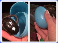 Use a large Easter egg as your Bluetooth case. Will hold most of the smaller models. :) Life hack!