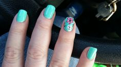 I want it to be spring nails!