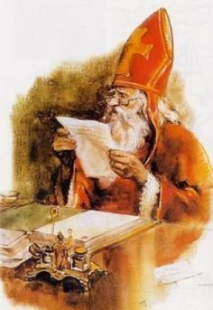 Sint Nicolaas |Pinned from PinTo for iPad| door Rien Poortvliet