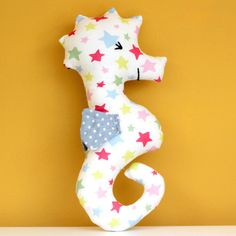 Download Seahorse-rattle Sewing Pattern (FREE)