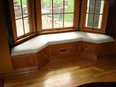Bay Window Bench - by captferd @ LumberJocks.com ~ woodworking community