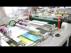 Fabrication Sac EN Plastique Type Sac Fond Carré #InfoWebPlasturgie Gym Equipment, Packaging, Workout Equipment, Wrapping