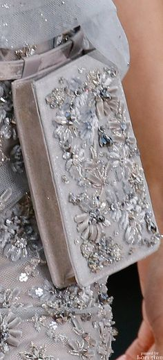 Chanel Couture Spring 2016 - is this a modern fanny pack! Absolutely love love love it
