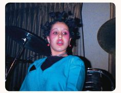 Poly Styrene, singer with X-Ray Spex (1977) by Simon Barker
