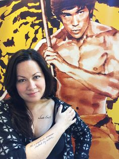 Bruce Lee's daughter reflects on the philosophies and inspiration her late father cultivated throughout his acclaimed career. | Shannon Lee, CEO of the Bruce Lee Family Company