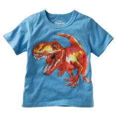 OshKosh Originals Graphic Tee. Roar! He's ready to conquer the great outdoors in this fun dinosaur graphic tee.