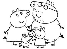 peppa pig Printable Peppa Pig Coloring Pages. Have a Joy with Peppa Pig Coloring Pages. Do your children like to color pictures? If they do, the Peppa pig coloring pages can be the right cho Nick Jr Coloring Pages, Peppa Pig Coloring Pages, Family Coloring Pages, Dinosaur Coloring Pages, Dog Coloring Page, Cool Coloring Pages, Cartoon Coloring Pages, Christmas Coloring Pages, Animal Coloring Pages