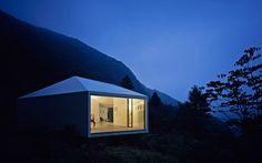 makoto yamaguchi places art gallery in karuizawa forest - designboom | architecture & design magazine