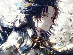 Date Masamune, Nikkari Aoe, Japanese Games, Japanese History, Owari No Seraph, Touken Ranbu, Kawaii Anime, Anime Guys, Anime Characters