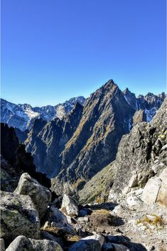 In High Tatras there are some of the best hikes in Europe! Let's have a look at the most scenic Tatra National Park trails. Hiking Routes, Hiking Europe, Hiking Trails, Tatra Mountains, Rocky Mountains, Best Countries To Visit, High Tatras, Park Trails, Lake Mountain