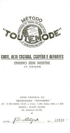 Método de corte e costura sem mestre Toutemode ( clicar com o mouse…