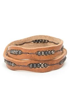 'Black' Wrap Bracelet