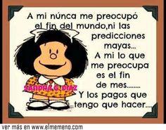 Yo sé lo que se siente Mafalda