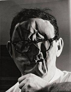 Selfie by Erwin Blumenfeld (1897-1969)