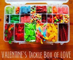 Tack box of candy!