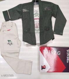 Jackets & Coats Beautiful Kids Clowthing Set Fabric: Cotton Multipack: 1 Sizes:  Free Size Country of Origin: India Sizes Available: 2-3 Years, 3-4 Years, 4-5 Years, 5-6 Years, 6-7 Years, 7-8 Years, 8-9 Years, 9-10 Years, 10-11 Years, 1-2 Years   Catalog Rating: ★4.3 (290)  Catalog Name: Tinkle Elegant Boys Jackets & Coats CatalogID_1703657 C59-SC1181 Code: 408-9631389-8712