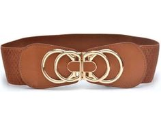 This vintage belt is the perfect match for your romantic and fashion sense. It features faux leather and stretchy fabric. spenditonthis.com