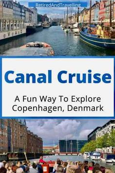 Canal Boat Cruise in Copenhagen Denmark Denmark Destinations, Travel Tips For Europe, Budget Travel, Visit Vancouver, European River Cruises, Tourist Sites, Canal Boat, Sun And Water, Boat Tours
