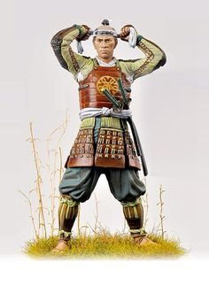 Andrea Miniatures  AND-S15F03  Ashigaru 1600     9 white metal casting parts for assembly and painting