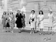 اميرات مصر غي اواخر الأربعينات