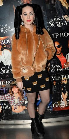 You Can Shop Katy Perry's Straight-From-The-Runway Look Now via @WhoWhatWear | I love the bear theme!