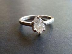 Raw Diamond Ring // Rough Diamond Ring // Natural by Avello, $118.00