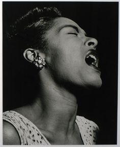 When jazz singer Billie Holiday was first starting out in the her phrasing and voice were audio gold. Billie Holiday, Strange Fruit, Jazz, Hollywood Photo, Old Hollywood, Martin Luther King, People Photography, Portrait Photography, Minnie Riperton