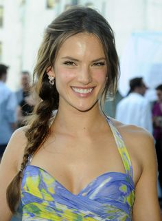 June 2010 //  Alessandra Ambrosio's Prettiest Hair Moments