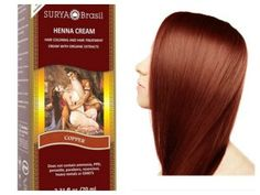 This fall's must-have hair trend takes inspiration from your favorite latte. Pumpkin-Spice up your tresses this autumn with Surya Brasil's Henna Cream in Copper and Reddish Dark Brown.