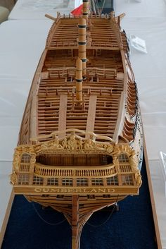pstrykacz > WSMC&E Newport Beach, California > Cumberland by K. Scale Model Ships, Scale Models, Model Sailing Ships, Hms Victory, Ship Of The Line, Boat Painting, Air Rifle, Wooden Ship, Tall Ships