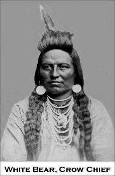 White Bear, Crow Chief