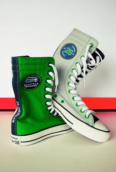 Seahawk shoes!