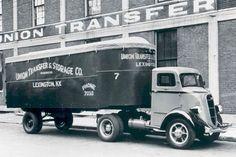 1936 Studebaker 2M201 COE Union Van Tractor Truck