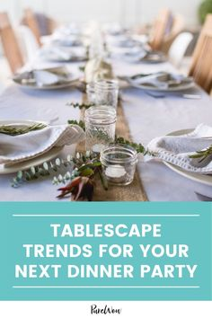Feeling that post-pandemic hostess itch? Here are three tablescape trends of 2021 to inspire your next dinner party. #dinner #party #tablescape Traditional Thanksgiving Recipes, Game Day Appetizers, Picnic Foods, Summer Is Here, Home Trends, Outdoor Parties, Summer Salads, Fall Recipes, Tablescapes