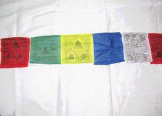 Tibet. Gebets- oder Wunschfahne nr. 2