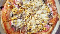 Pizza so všetkým ; Hawaiian Pizza, Vegetable Pizza, Vegetables, Food, Basket, Meal, Essen, Vegetable Recipes, Hoods