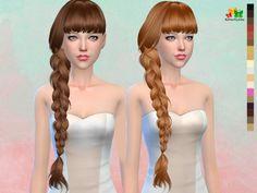 Butterflysims: B-flysims Hair 166 NO hat • Sims 4 Downloads