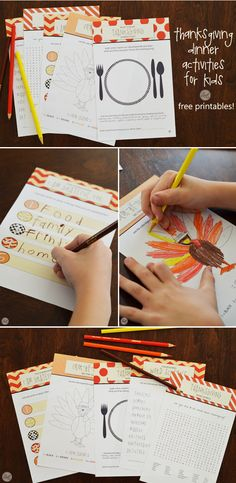 FREE PRINTABLES :: thanksgiving activities for kids! perfect for thanksgiving day or even as part of their dinner place setting. | www.livecrafteat.com