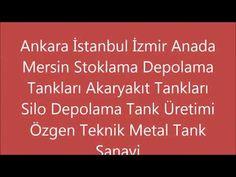 Sıvı Gıda Maddesi Stoklama Depolama Tankları Üreticileri Özgen Metal 05465451314 - YouTube Istanbul, Metal, Tanks, Youtube, Storage, Purse Storage, Shelled, Larger, Metals